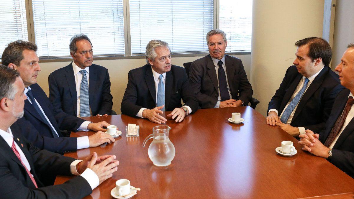 Alberto Fernández ya presentó a Daniel Scioli como embajador en Brasil y a Felipe Solá como canciller
