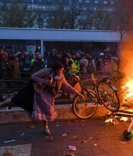 Segundo día de huelga en Francia contra la reforma de pensiones de Emmanuel Macron
