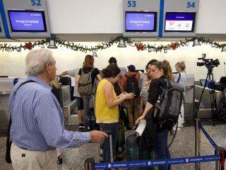 conciliacion obligatoria: se reanudan los vuelos de latam tras el paro