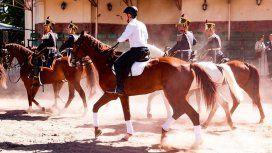 Mauricio Macri anduvo a caballo en uno de sus últimos días como presidente