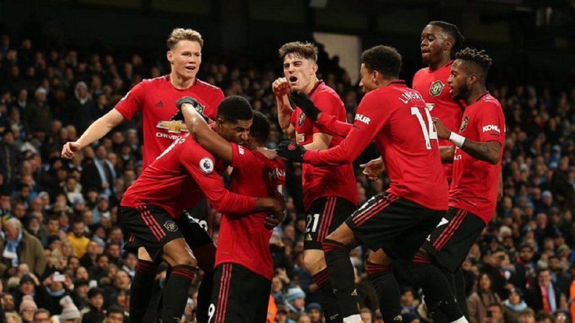 Pese al gol de Otamendi, el City de Guardiola perdió el clásico de Manchester con el  United