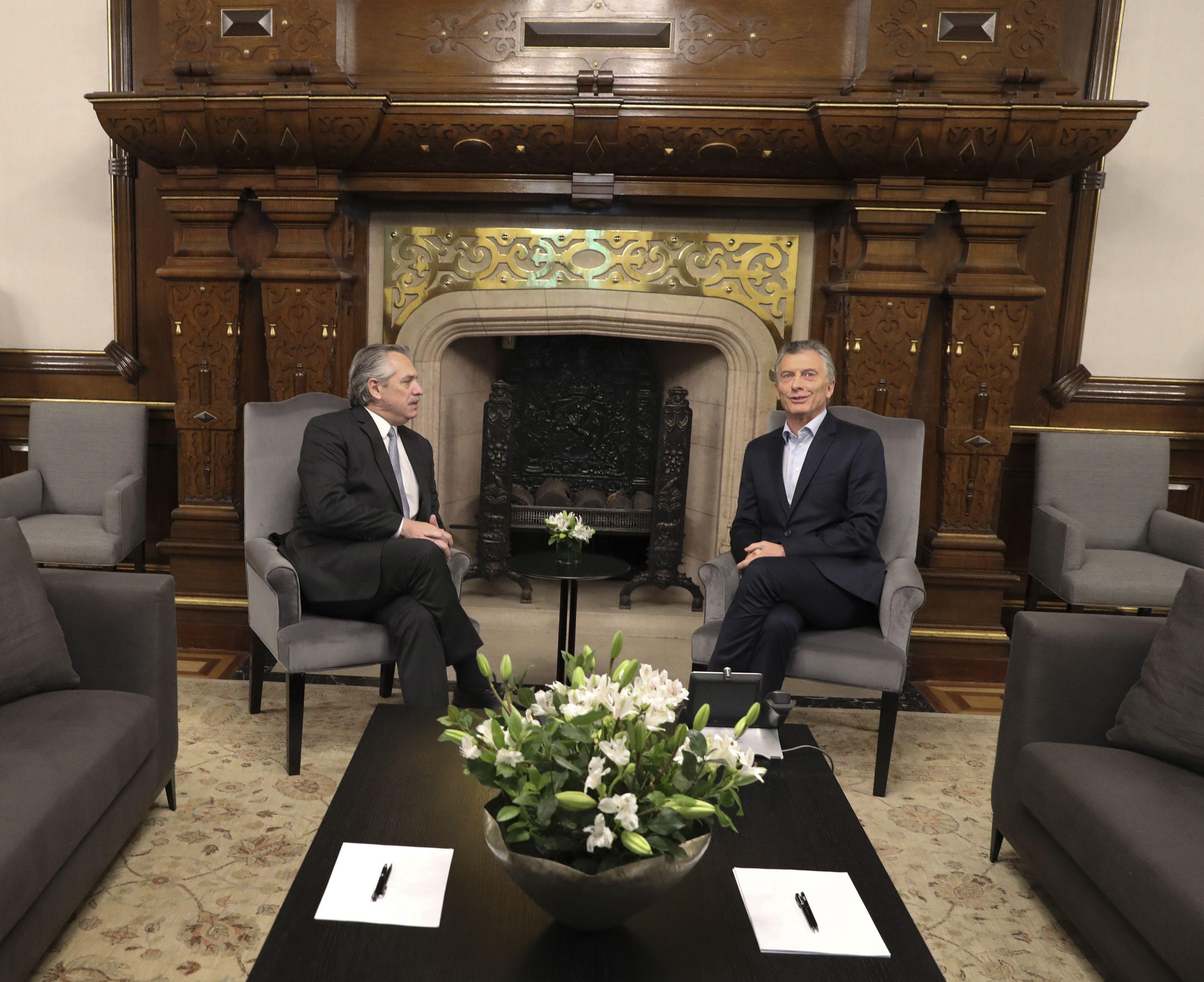 A poco del traspaso, Alberto Fernández y Macri compartirán la misa por la unidad y la paz