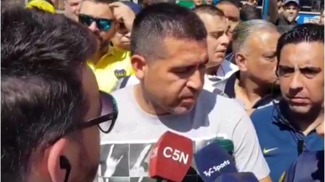 Riquelme denunció irregularidades en las elecciones de Boca