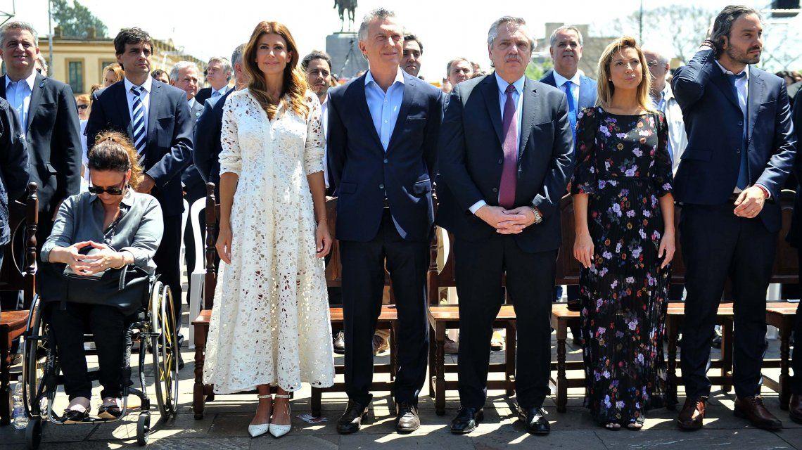 Alberto Fernández, tras la misa con Macri en Luján: El secreto es respetarnos, no pensar igual