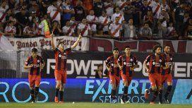 Gaich marcó el gol de la victoria del Cuervo