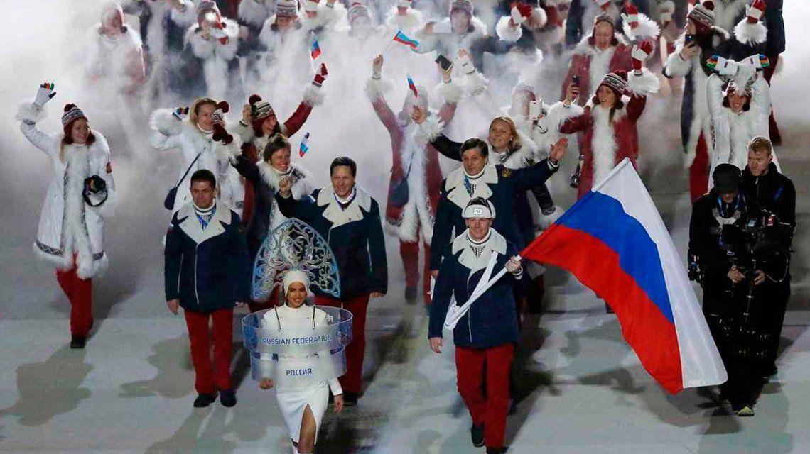 Suspenden a Rusia de competencias deportivas por 4 años por el escándalo de doping