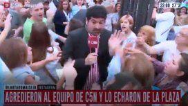 Lautaro Maislin fue agredido por manifestantes