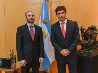 Martín Guzmán y Sebastián Lacunza
