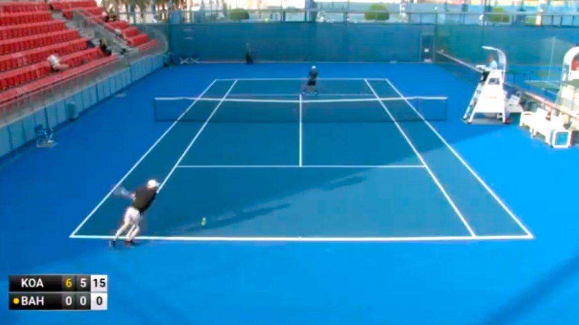 Escándalo en Doha: Artem Bahmet, el peor tenista de la historia y un partido repleto de sospechas