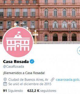 La cuenta de la Casa Rosada se despidió con una cita de la Biblia: Hay un tiempo para cada cosa