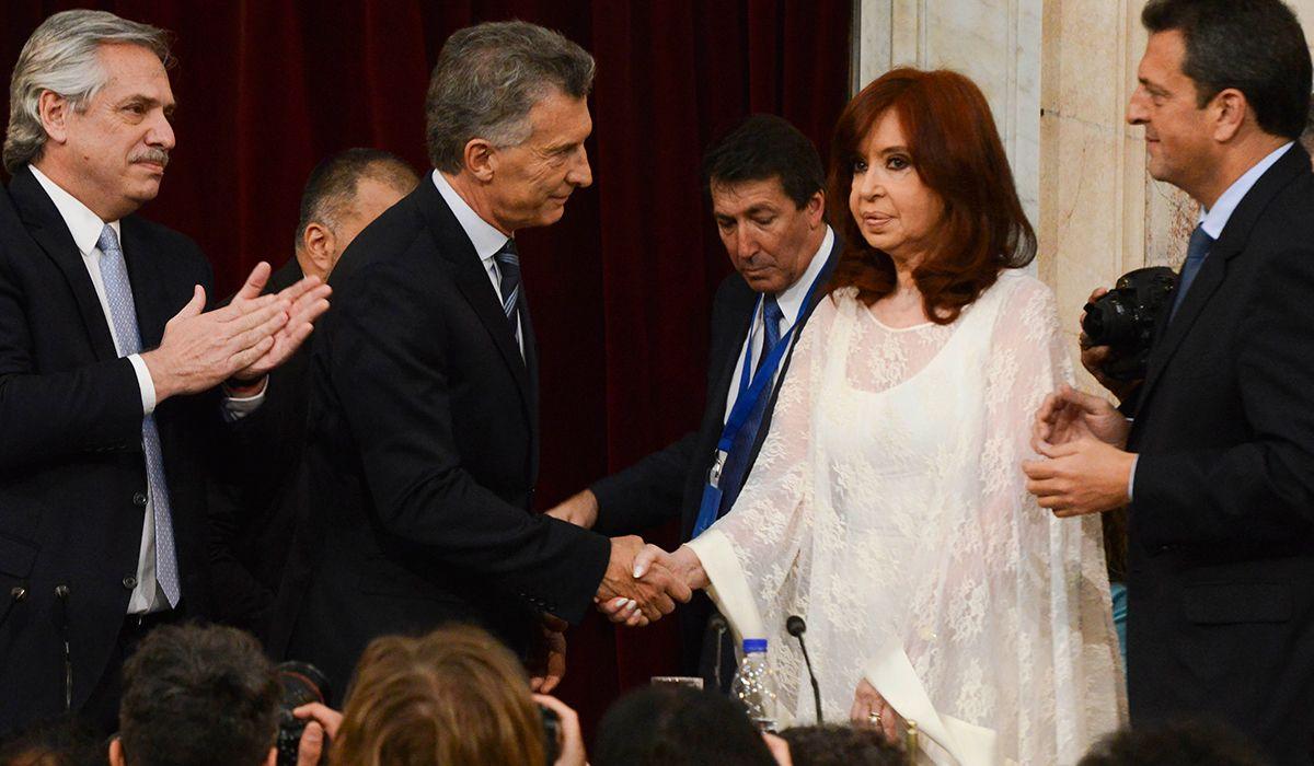 Cristina habló de su gesto a Macri en la asunción de Alberto: No me gusta fingir