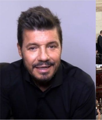Marcelo Tinelli, presente en la asunción de Alberto Fernández: Tengo mucha esperanza