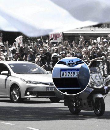 Alberto trae suerte: el número de la patente de su auto salió en la quiniela