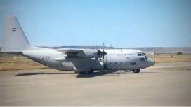 Un avión de la Fuerza Aérea se suma a la búsqueda del Hércules chileno en la Antártida