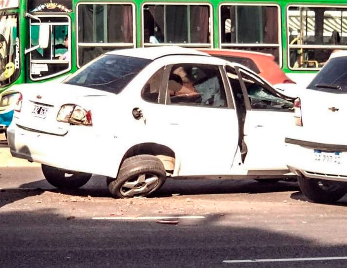 Sarandí: un borracho atropelló y mató a tres personas y se quiso escapar