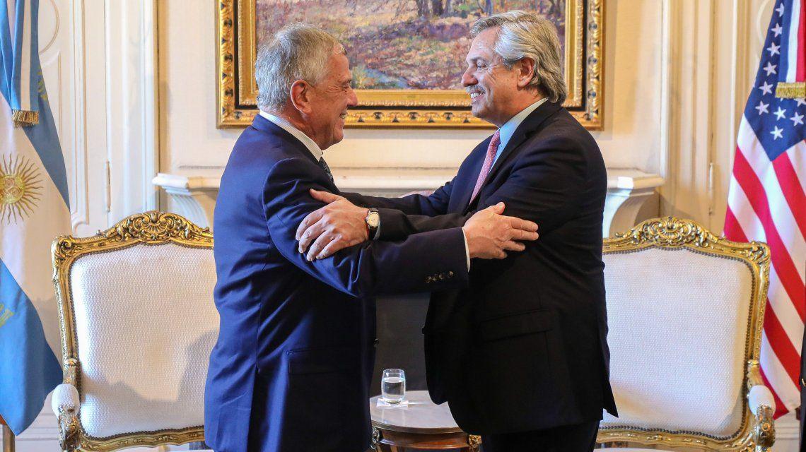 Alberto Fernández recibió al enviado de Trump y hablaron sobre la deuda pública heredada