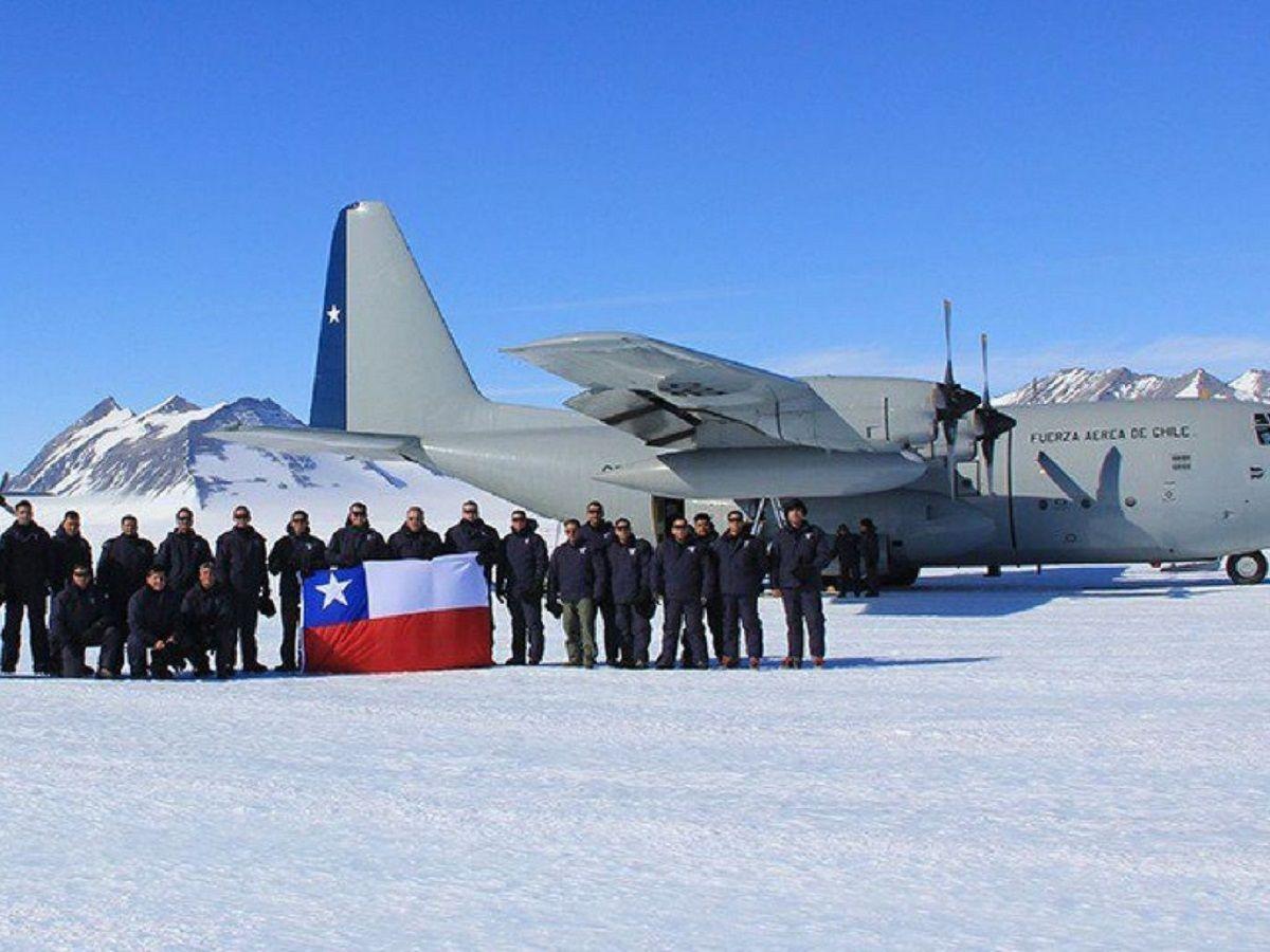 Chile: encontraron restos humanos cerca de donde desapareció el Hércules C-130