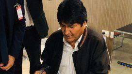 Evo Morales ya está en la Argentina