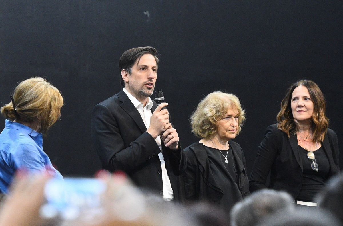Trotta presentó a su gabinete para el Ministerio de Educación