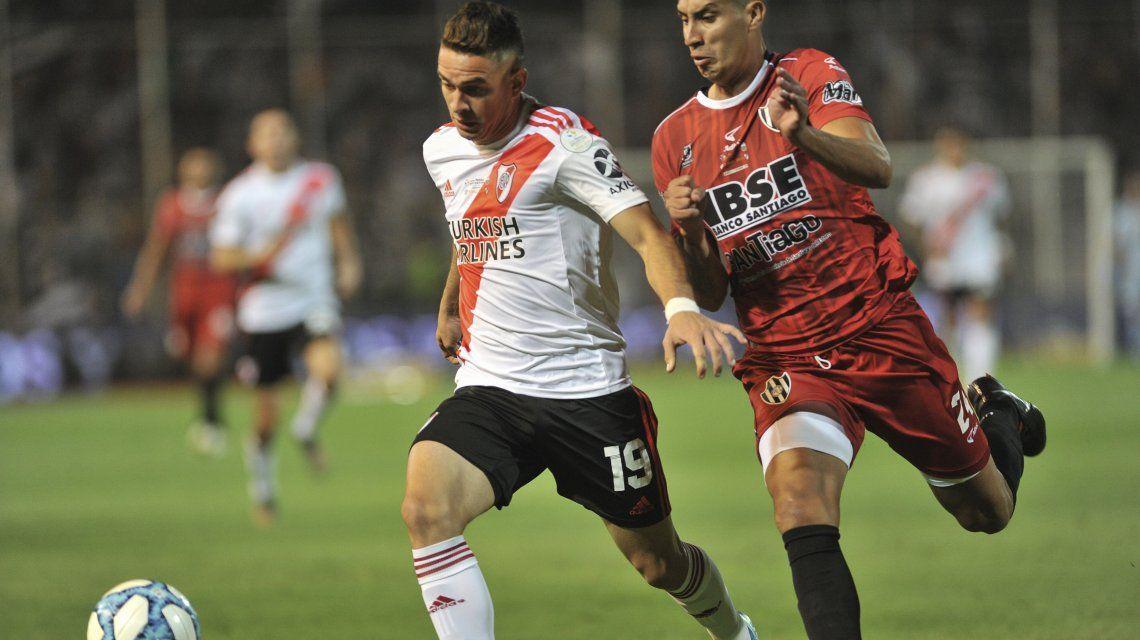 River goleó a Central Córdoba y es campeón de la Copa Argentina
