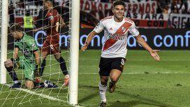 Julián Álvarez celebra la goleada
