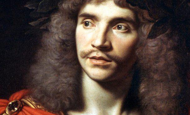 El autor Jean-Baptiste Poquelin, conocido como Molière.