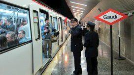 Un hombre fue detenido por morder a un seguridad del Metro de Barcelona