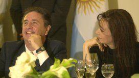 Eduardo Duhalde y Cristina Kirchner