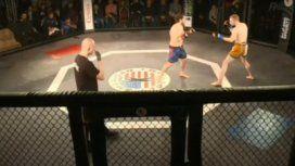 VIDEO: Un argentino ganó un combate de MMA en 9 segundos y sin tirar un golpe