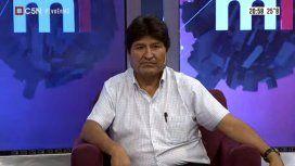 Evo Morales en C5N: se mostró confiado para las elecciones y reveló al principal responsable del golpe