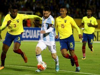 eliminatorias qatar 2022: argentina debuta contra ecuador de local