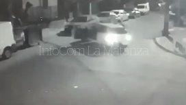 Violento asalto en La Matanza: le robaron el auto y la atropellaron