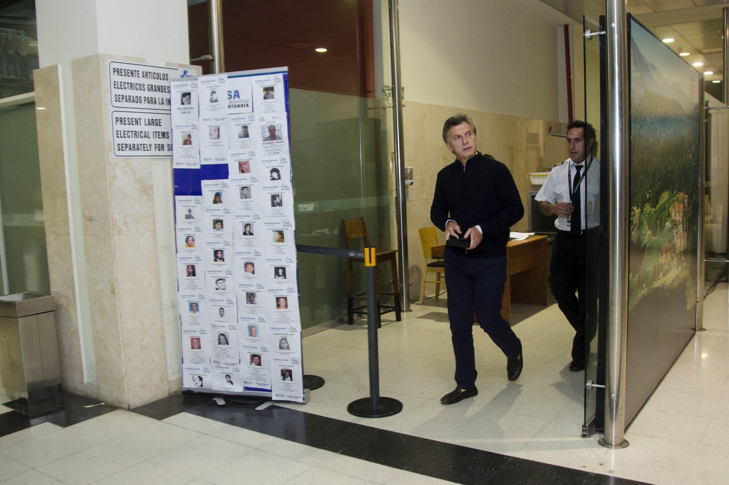 Mauricio Macri de viaje (Archivo)