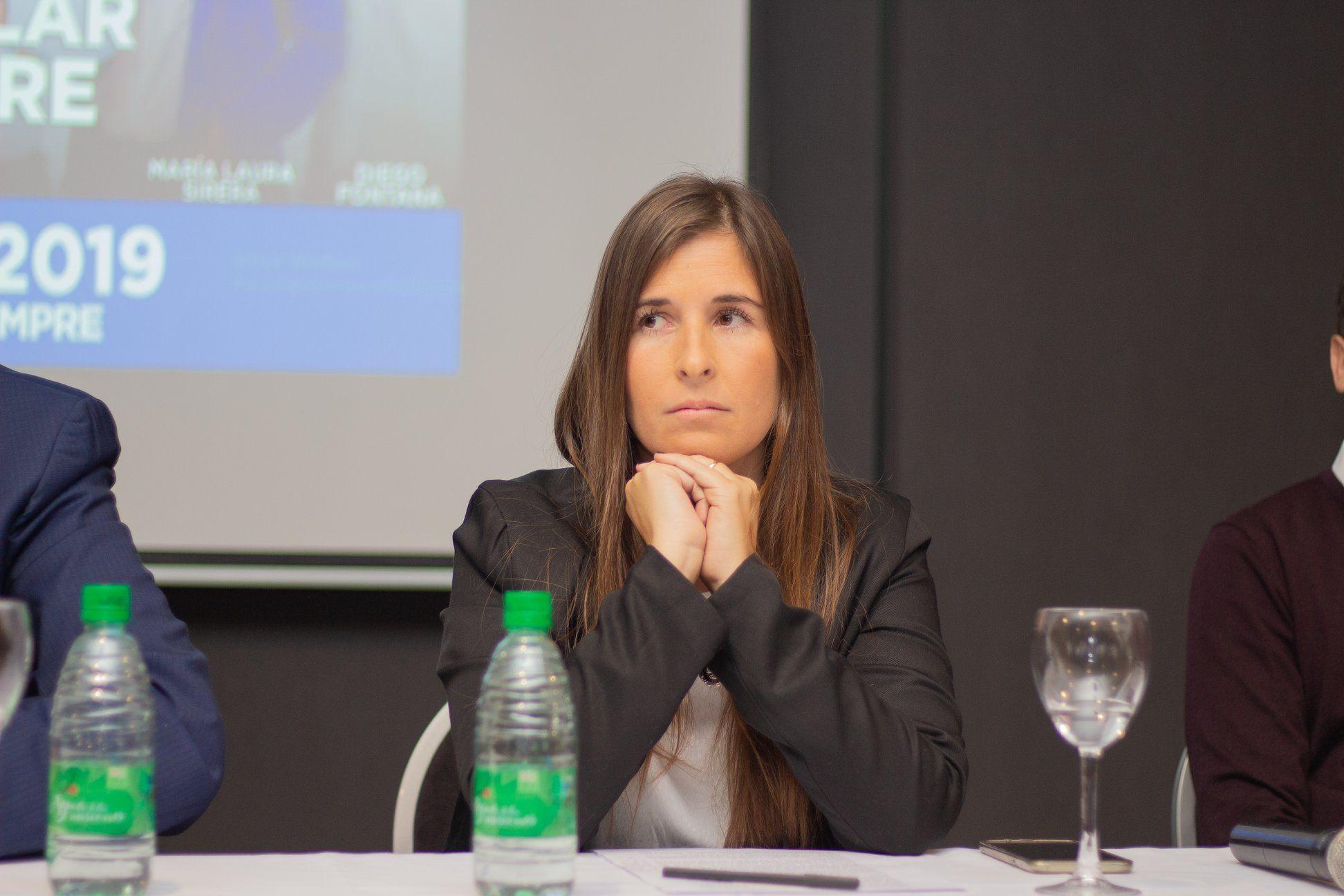 Laura Sirera fue candidata a concejal en Pilar