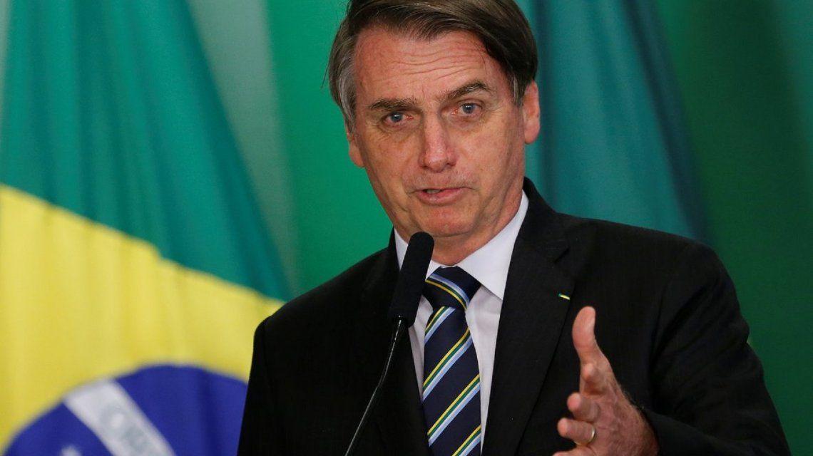La respuesta homofóbica de Jair Bolsonaro contra un periodista: Vos tenés una terrible cara de homosexual