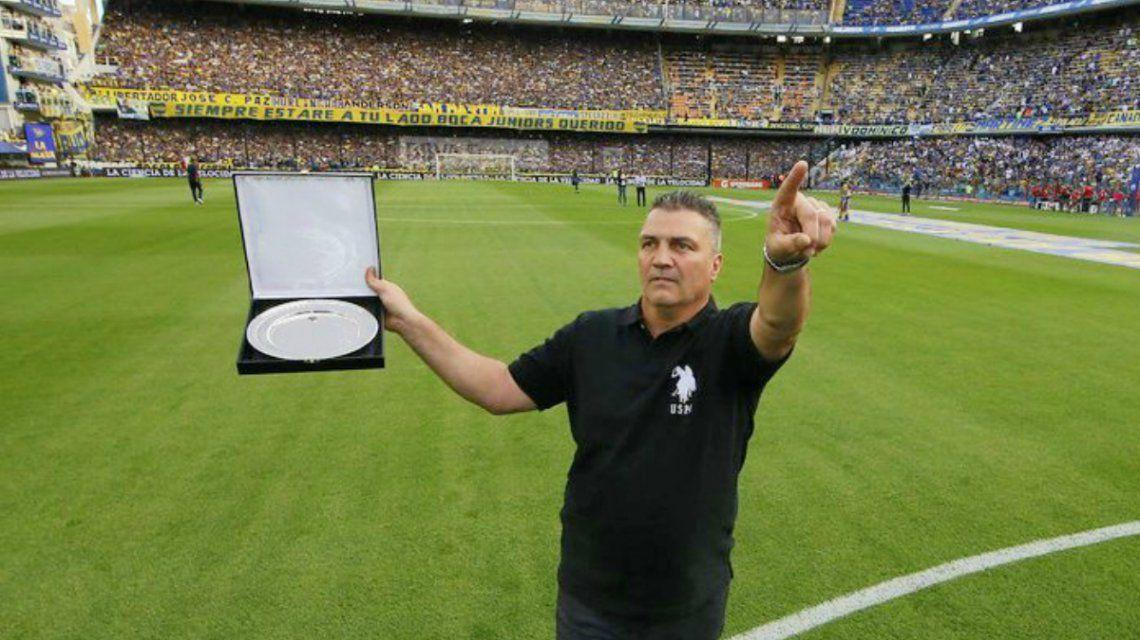 Giunta volvería a Boca pero como entrenador de las inferiores