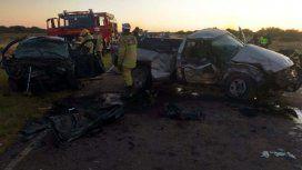 Un triple choque en La Pampa dejó siete muertos