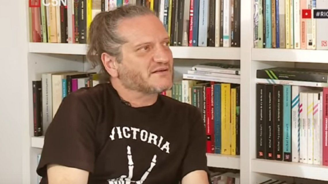 Darío Sztajnszrajber: Te angustia ver un país que se cae a pedazos