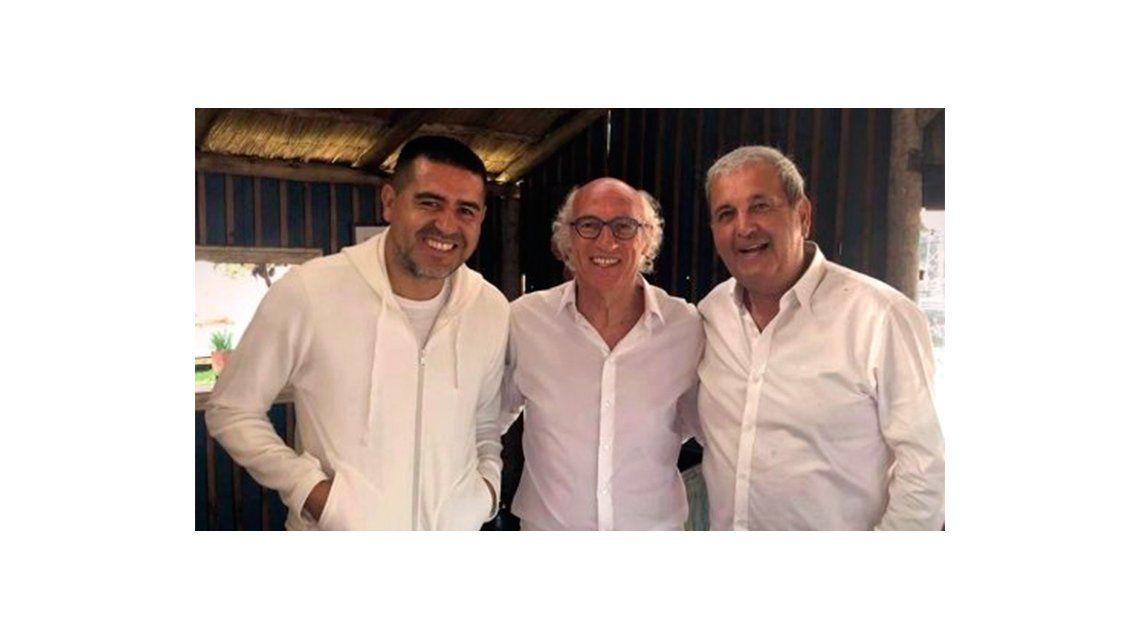 Riquelme se reencontró con Bianchi: la foto de la que todos hablan