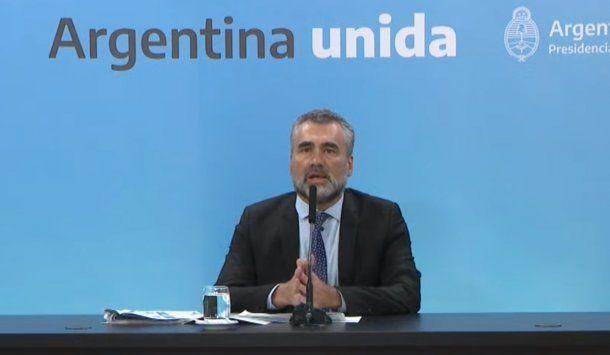 Alejandro Vanoli , titular de la Anses