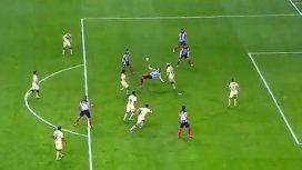 El impresionante gol de Funes Mori sobre la hora en la final entre Monterrey y América de México