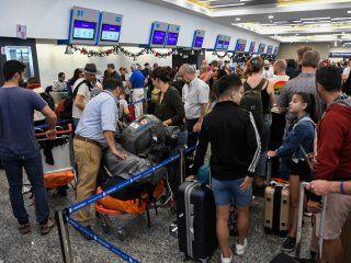 suspendieron vuelos en aeroparque por el mal tiempo en la ciudad