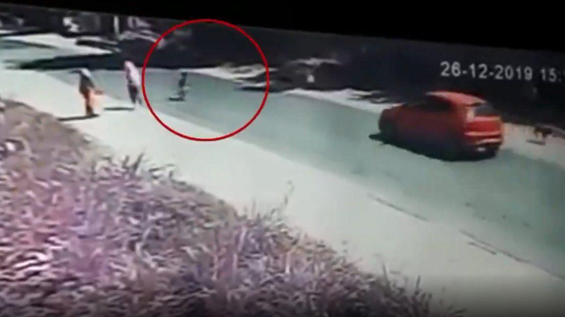 Tucumán: atropelló a un nene en la ruta y se dio a la fuga