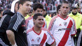 Juan Pablo Carrizo, Keko Villalba y Jonatan Maidana