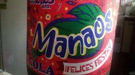 La Manaos que será retirada del mercado tiene la leyenda ¡Felices fiestas! en su etiqueta