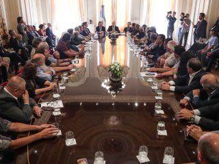 El Presidente firmó el Compromiso argentino por el desarrollo y la solidaridad