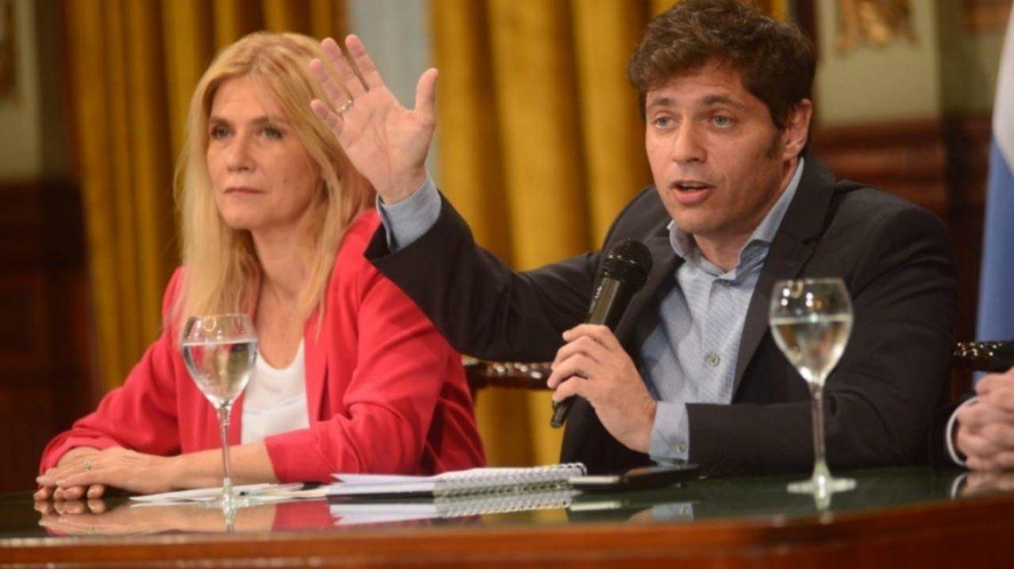 Kicillof apura las negociaciones antes del tratamiento de la ley impositiva