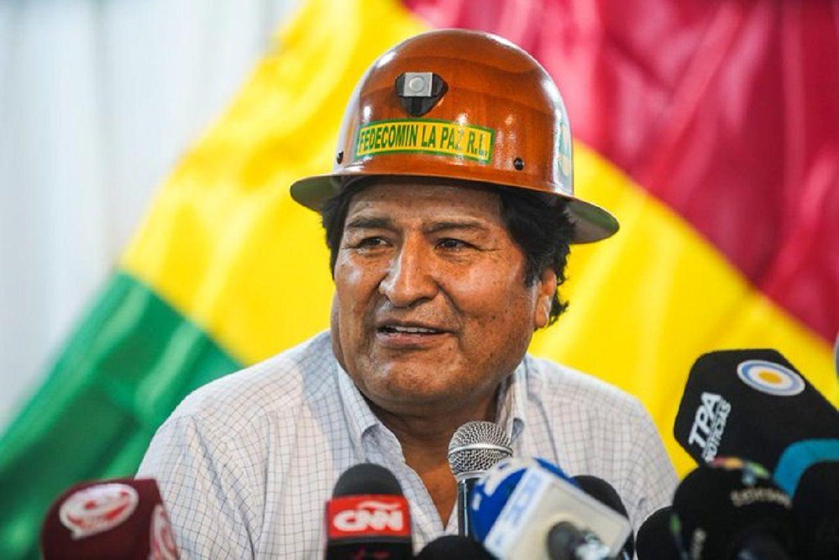 Evo Morales reveló la fecha en que se lanzará la fórmula: Estamos primeros sin candidato