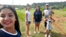 Una familia de Moreno desapareció cuando volvía de Carataras del Iguazú