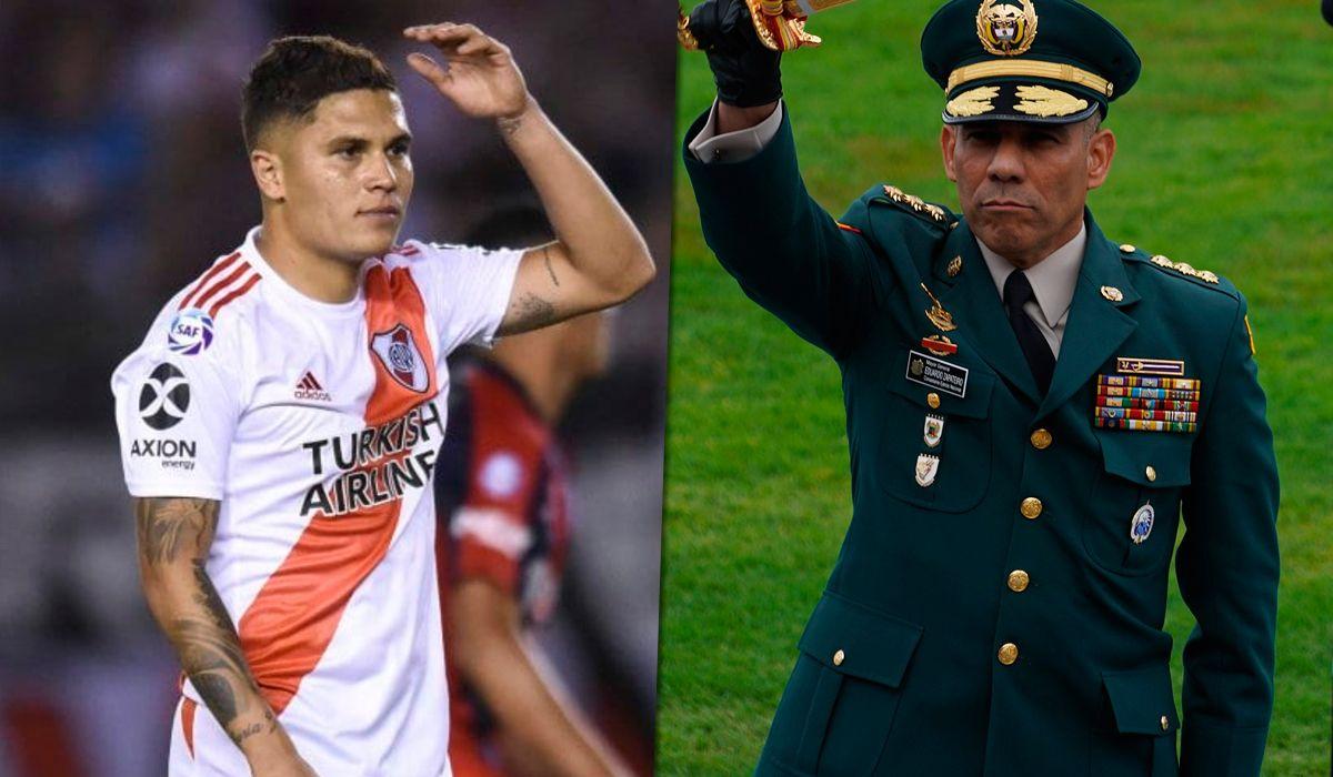 El comandante del Ejército de Colombia, Eduardo Zapateiro, le respondió a Juanfer Quintero